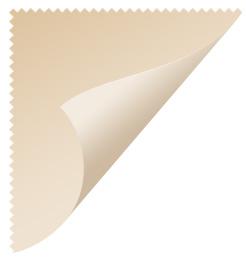 Curled corner