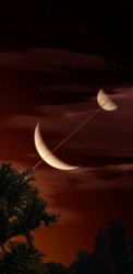 Brown Sky Planet And moons.png